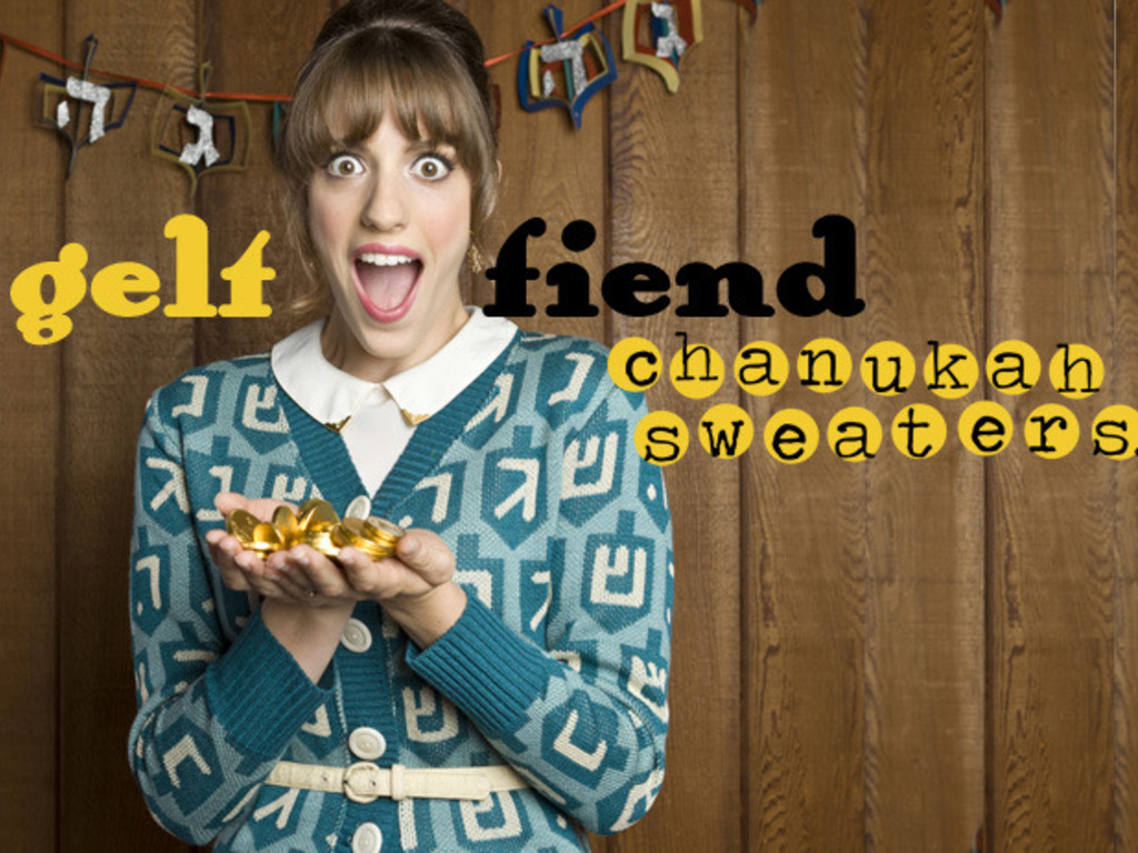 Geltfiend Chanukah Sweaters!'s video poster