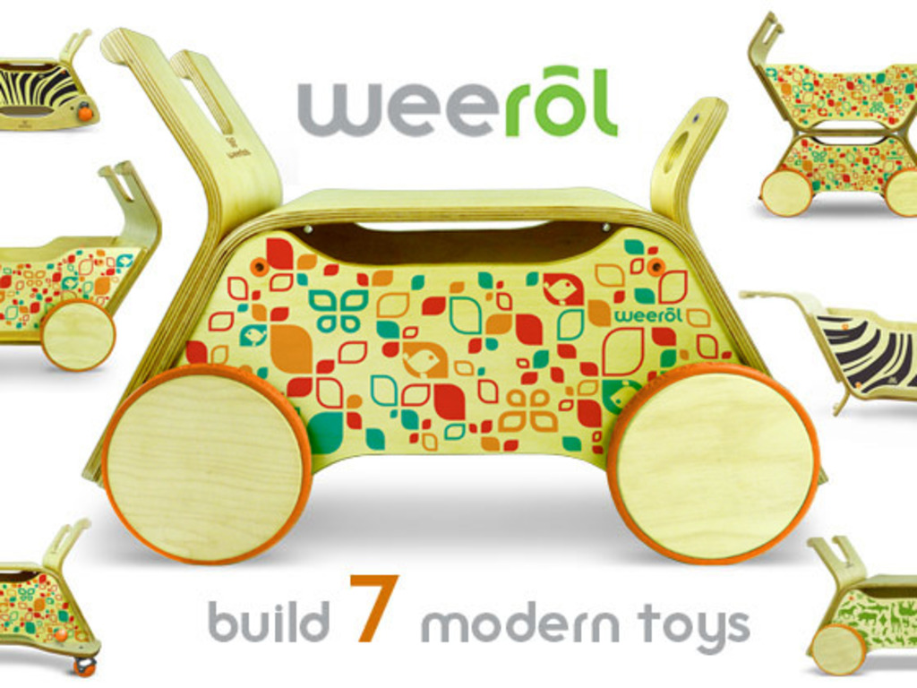 Weerol: The Modern Toy that Grows With Your Child's video poster