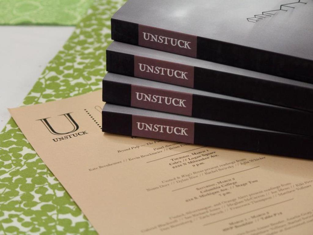 Unstuck: New Literature of the Fantastic and the Surreal's video poster