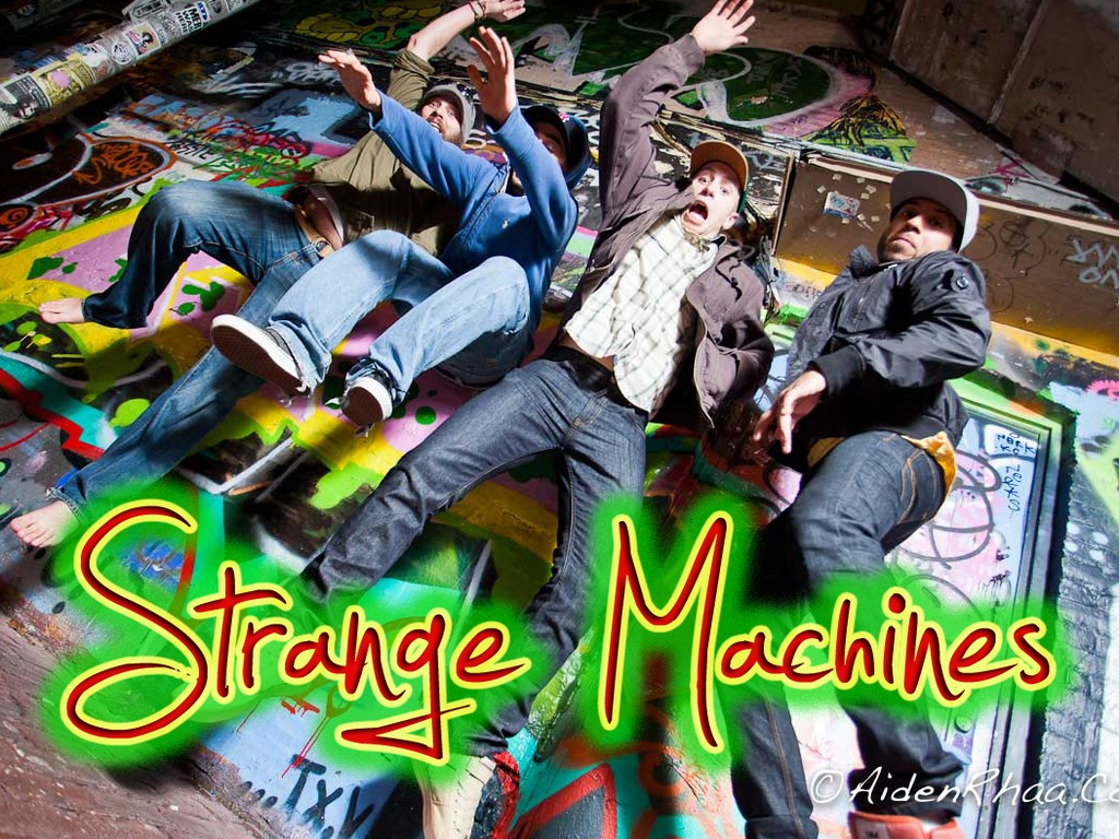 Strange Machines Records First EP!'s video poster