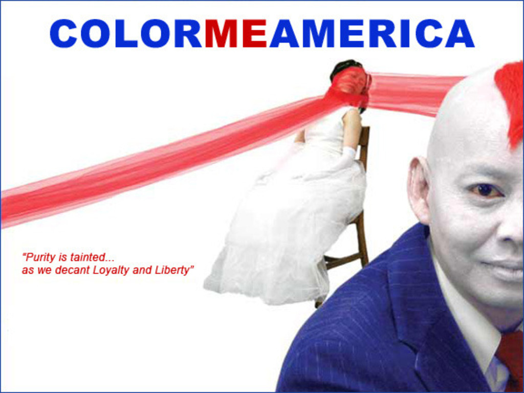 COLORMEAMERICA multimedia performance's video poster