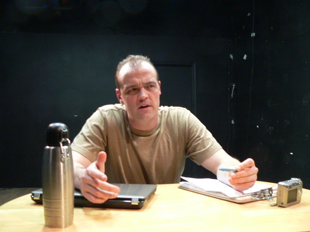 An Interrogation Primer at the FringeNYC.'s video poster