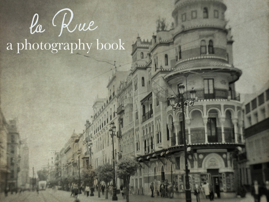 la Rue:  A photography book's video poster