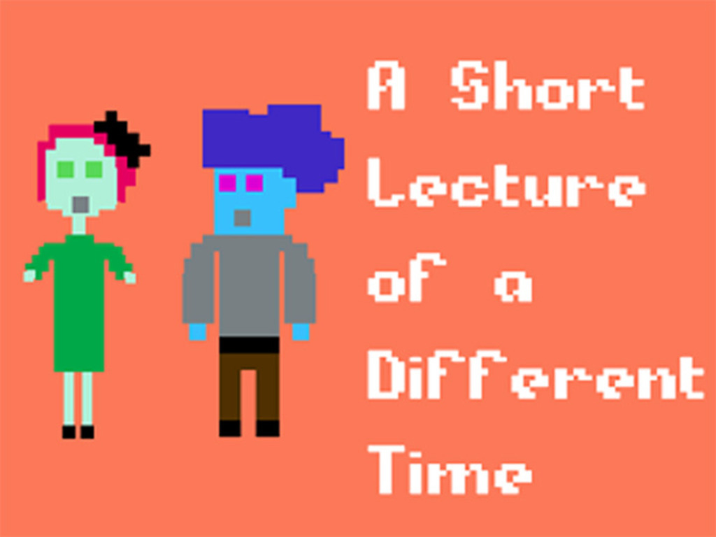 A Short Lecture of A Different Time's video poster