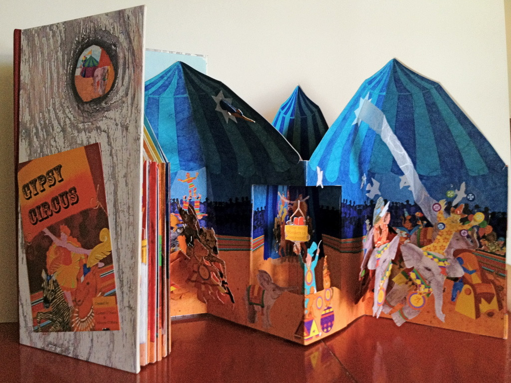 Gypsy Circus Pop-up Book's video poster