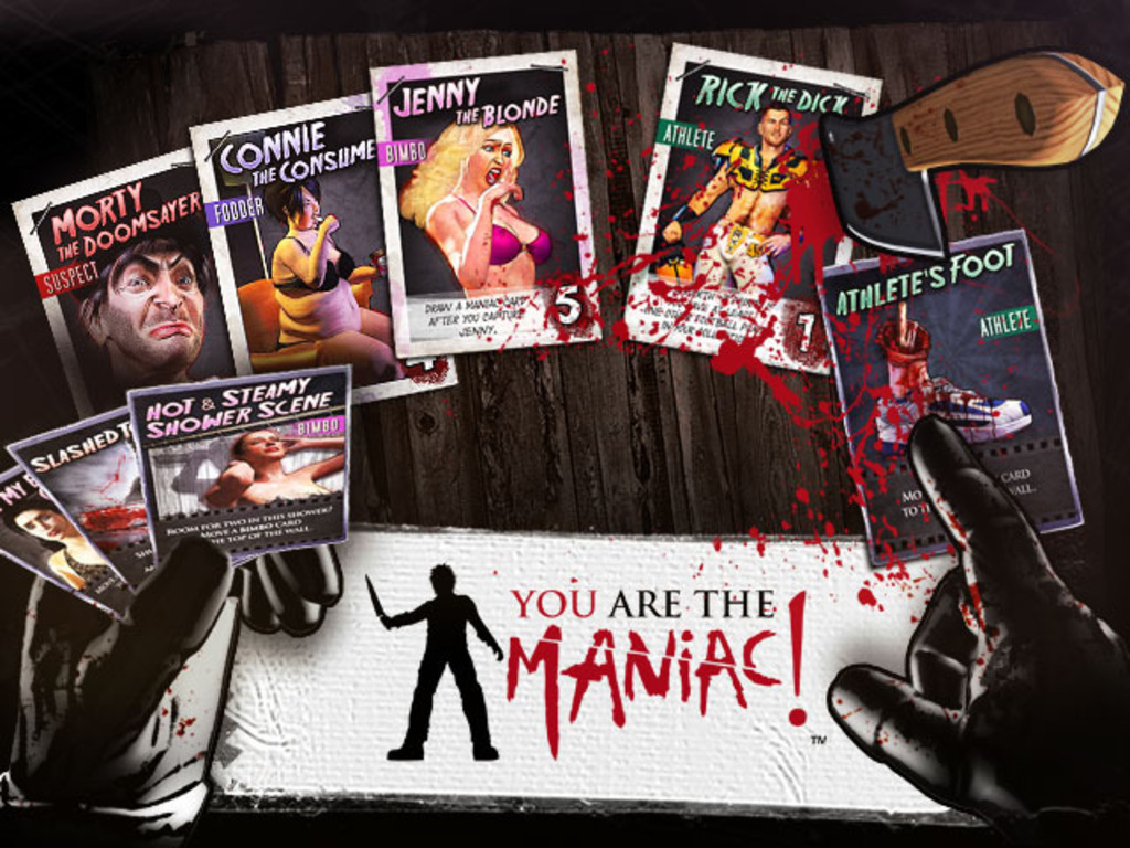 YOU are the Maniac! The Card Game for Horror Fans's video poster