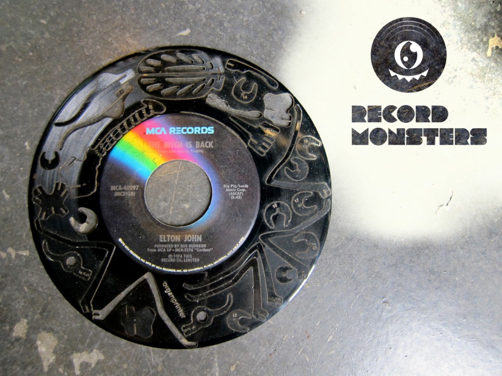 Record Monsters (Laser Cut Vinyl Record Puzzles)'s video poster
