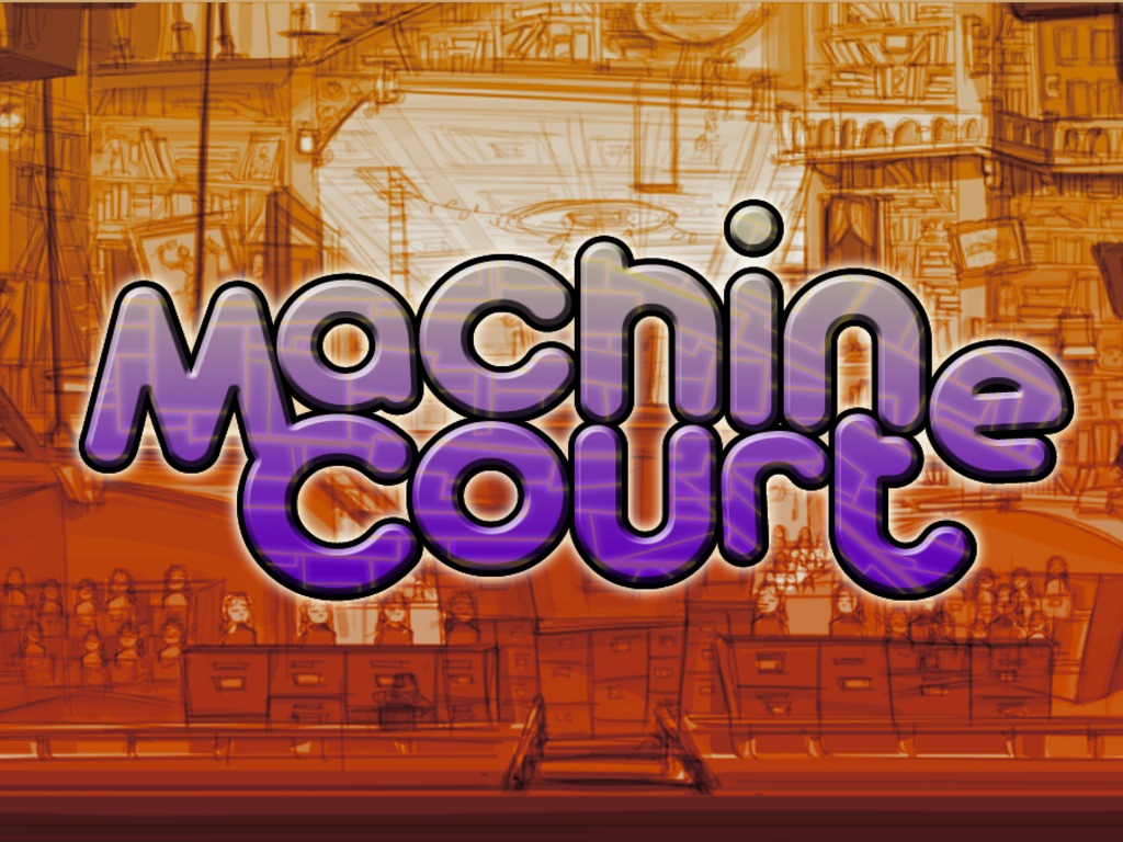 Machine Court – an interactive courtroom drama's video poster