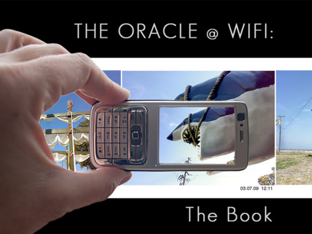 The Oracle @ WiFi: The Book's video poster
