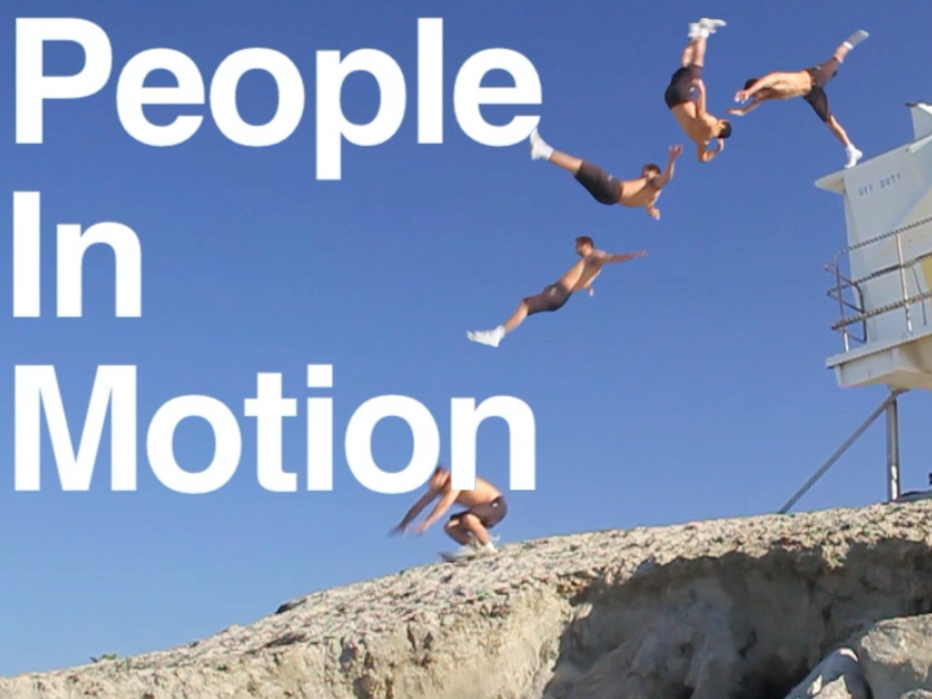 People In Motion's video poster