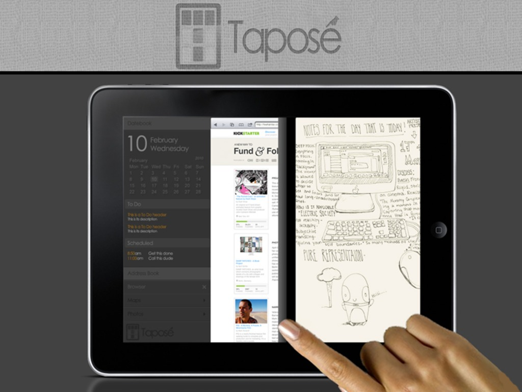 Taposé: Bringing the Courier to the iPad's video poster