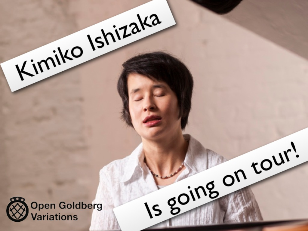 Kimiko Ishizaka, Well Tempered Clavier Tour's video poster