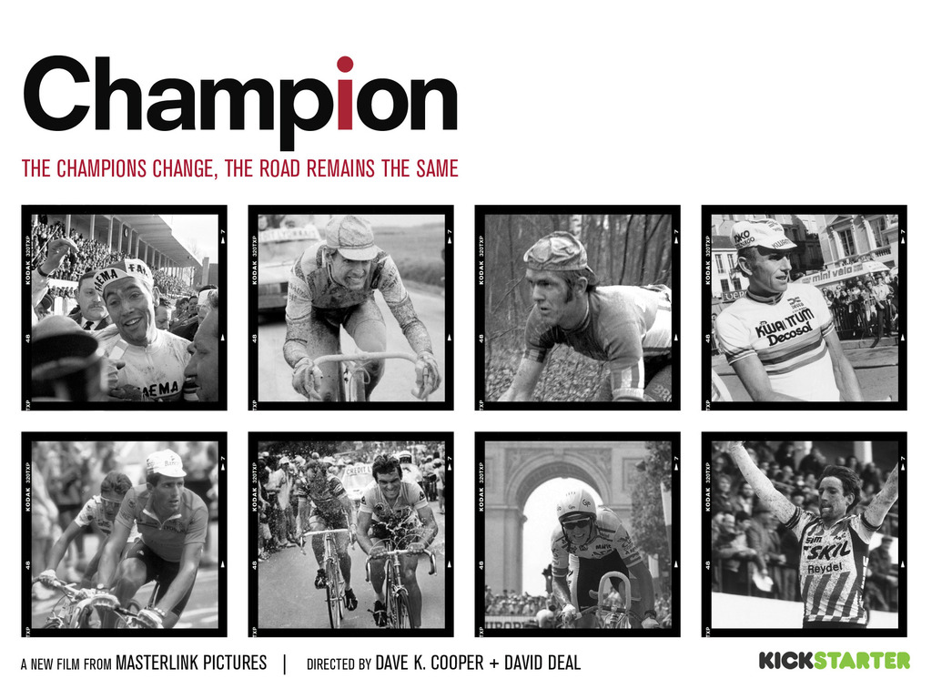 CHAMPION—a new film from the creators of Road to Roubaix's video poster