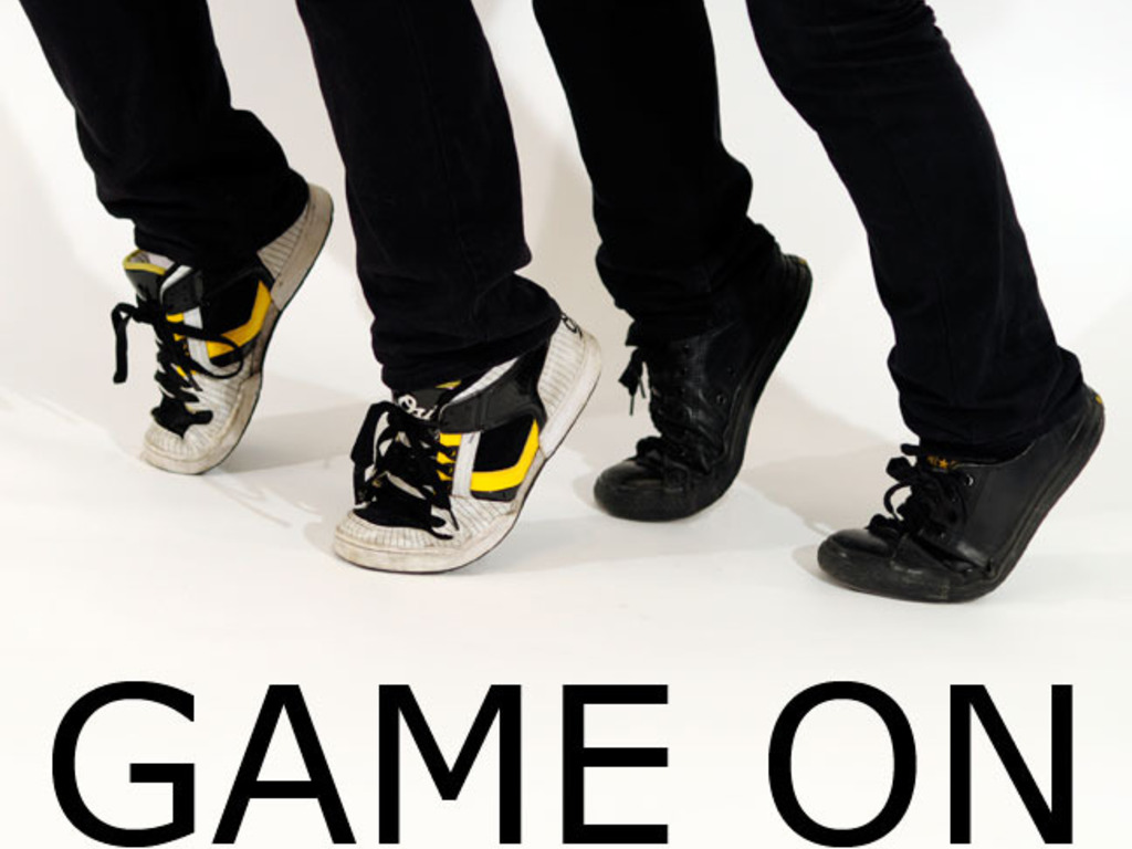 GAME ON Exhibition Catalog's video poster
