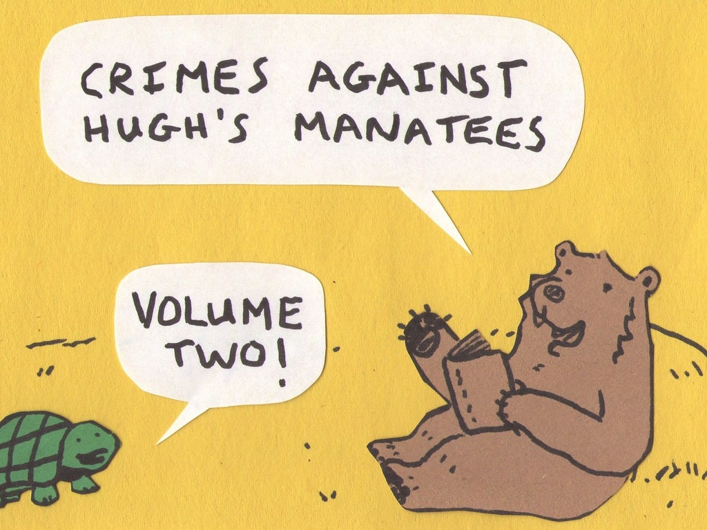 Crimes Against Hugh's Manatees Volume Two's video poster