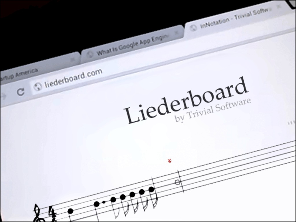 Liederboard: A Digital Music Composition Notebook's video poster