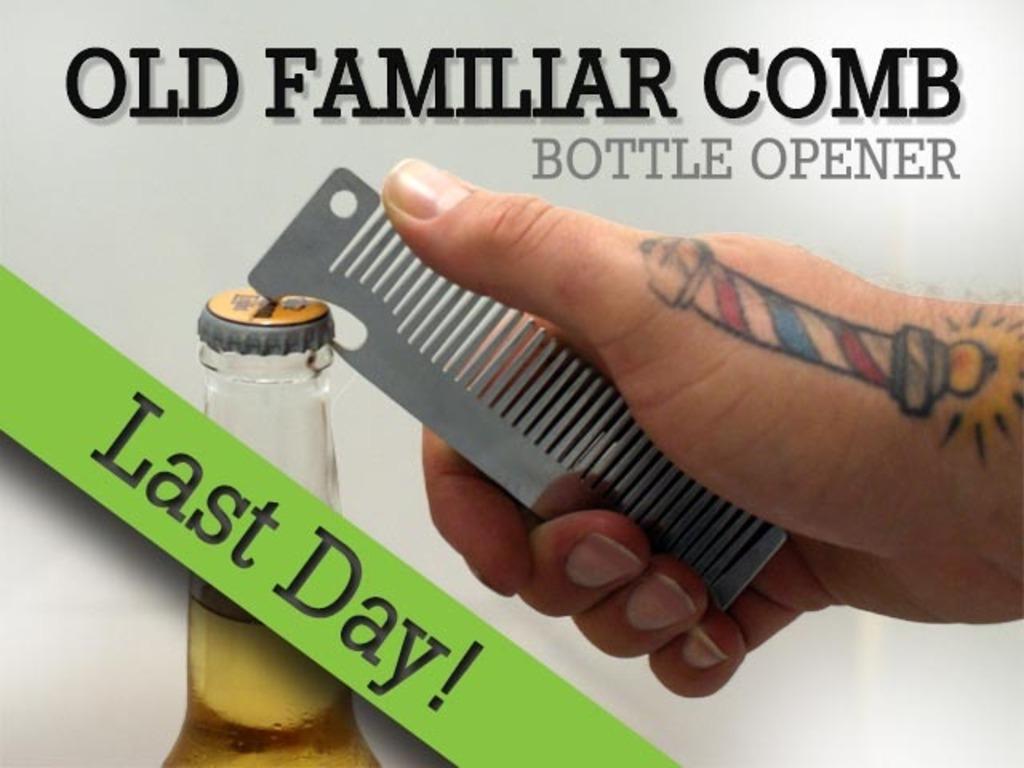 Old Familiar Comb Bottle Opener's video poster