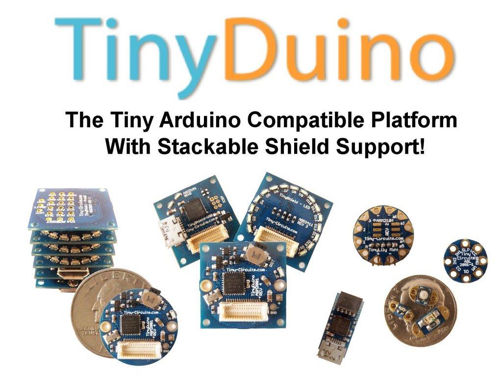 TinyDuino - The Tiny Arduino Compatible Platform w/ Shields!'s video poster