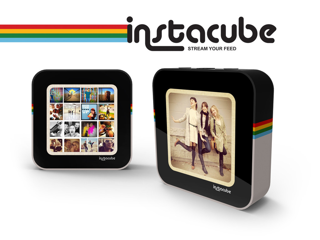 Instacube: A Living Canvas for your Instagram Photos's video poster