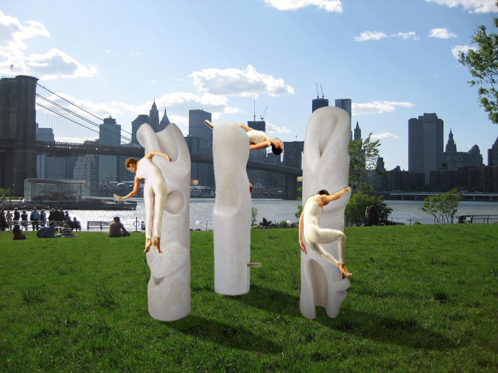 Entasis Dance: new sculpture-performance's video poster