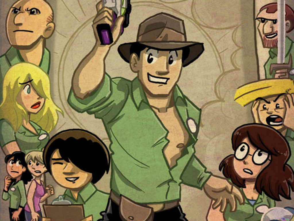 Shortpacked!: A mighty book collection of webcomics's video poster