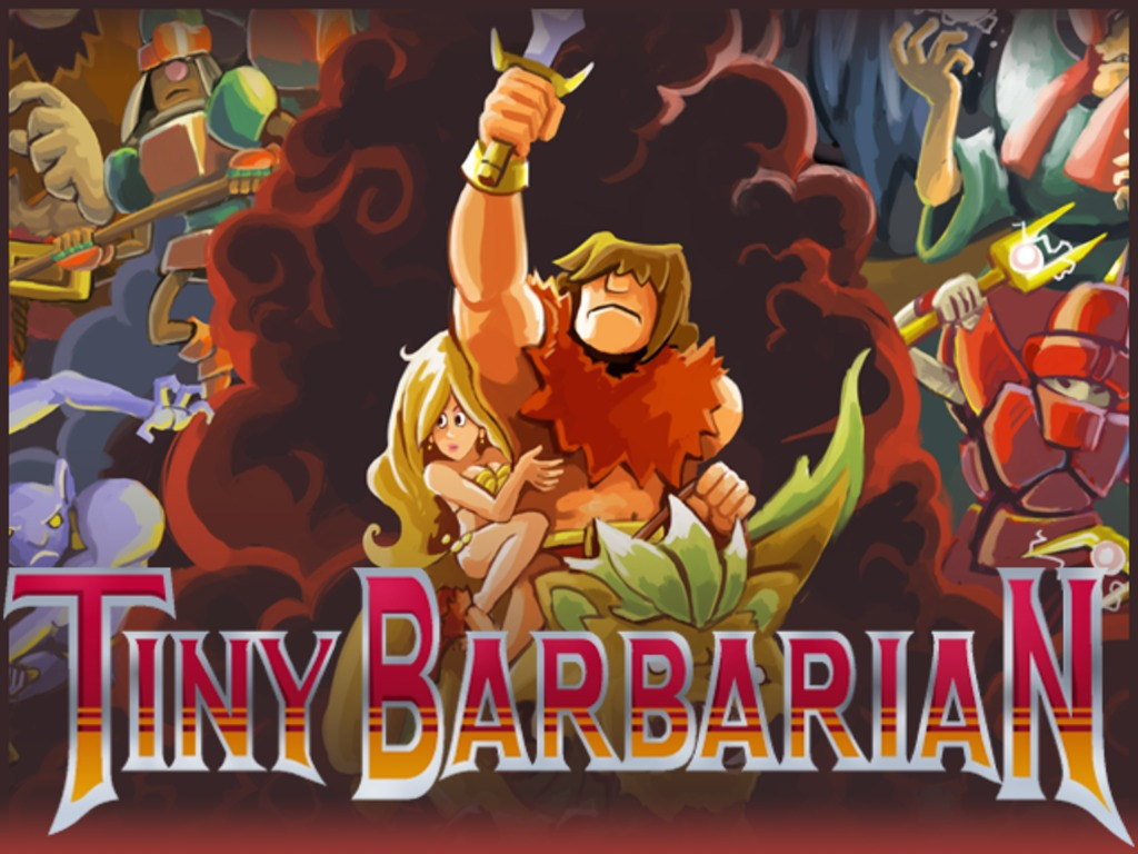 Tiny Barbarian DX's video poster