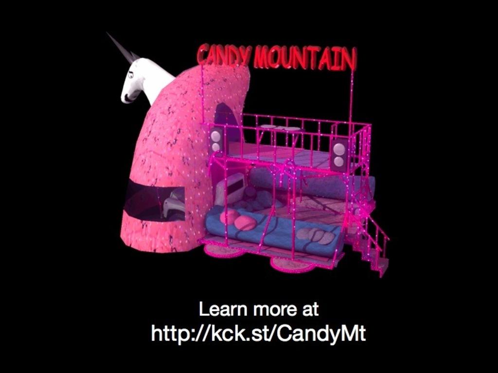Charlie the Unicorn Art Car's video poster