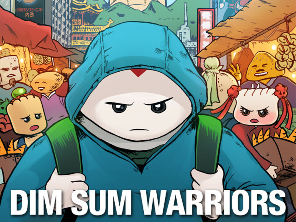 DIM SUM WARRIORS Volume One - in print at last!'s video poster