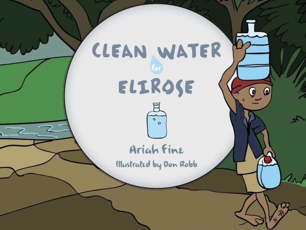 Clean Water for Elirose - Children's Picture Book to Inspire's video poster