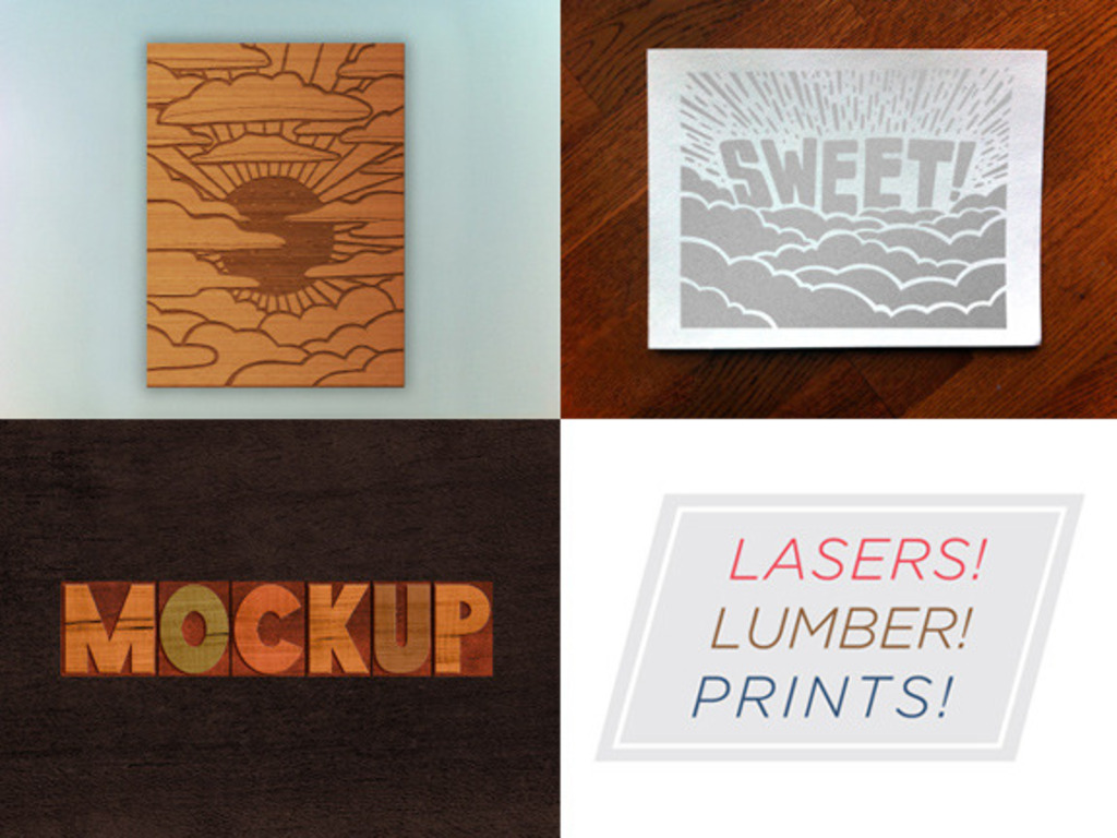 Lasers! Lumber! Prints!'s video poster