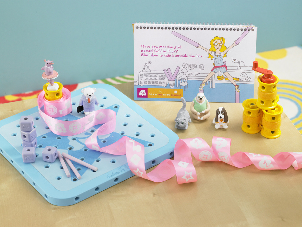 GoldieBlox: The Engineering Toy for Girls's video poster