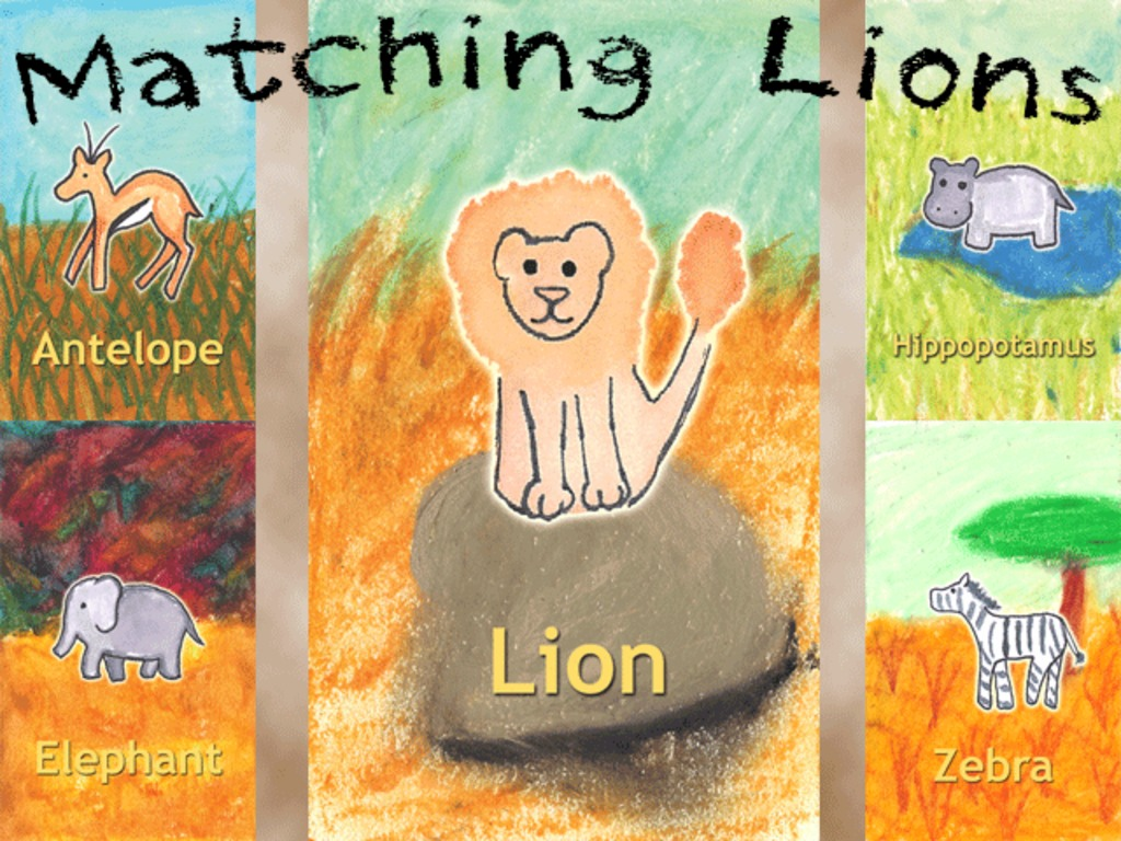 Matching Lions Game's video poster