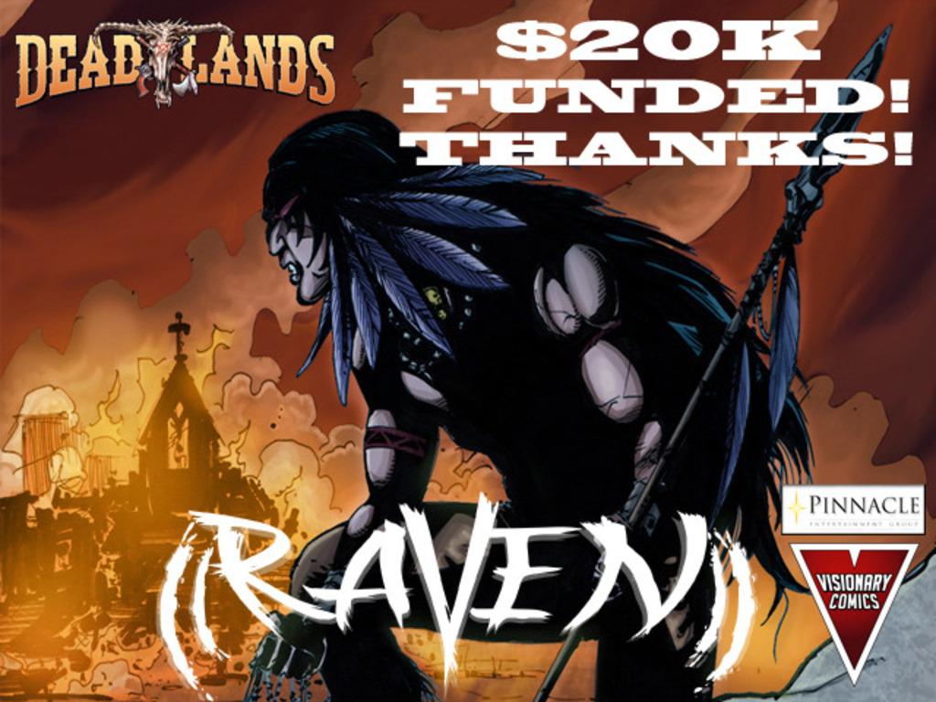 Deadlands: Raven Graphic Novel's video poster