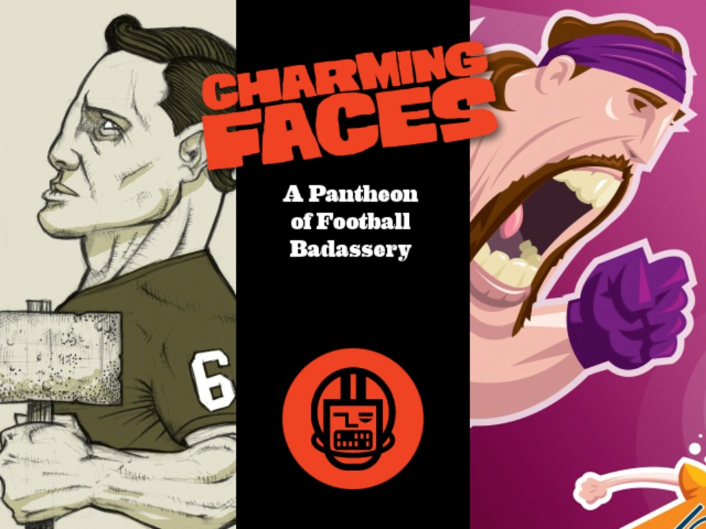 Charming Faces: A Pantheon of Football Badassery's video poster