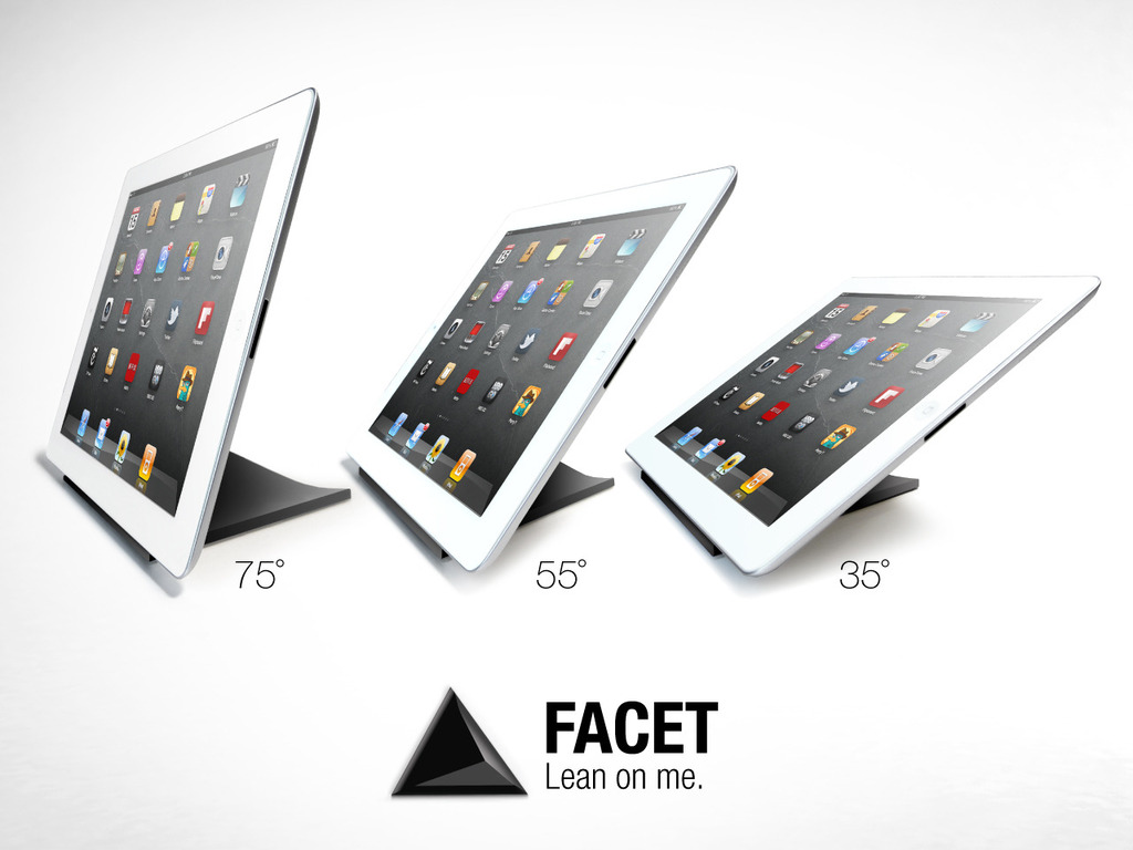 FACET pyramid iPad stand's video poster