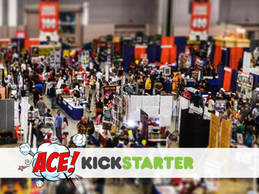ACE 2014! - A 100% Community Powered Comic Convention!'s video poster