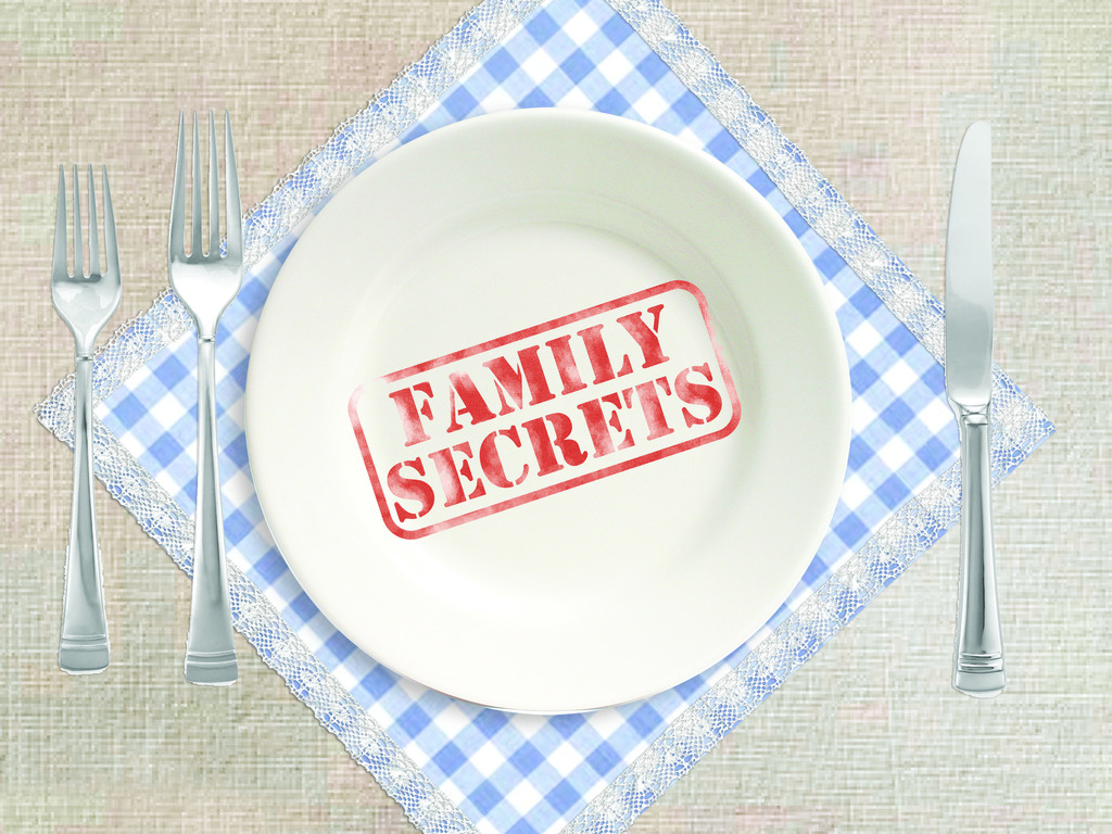 Family Secrets. A new doc style cooking show's video poster