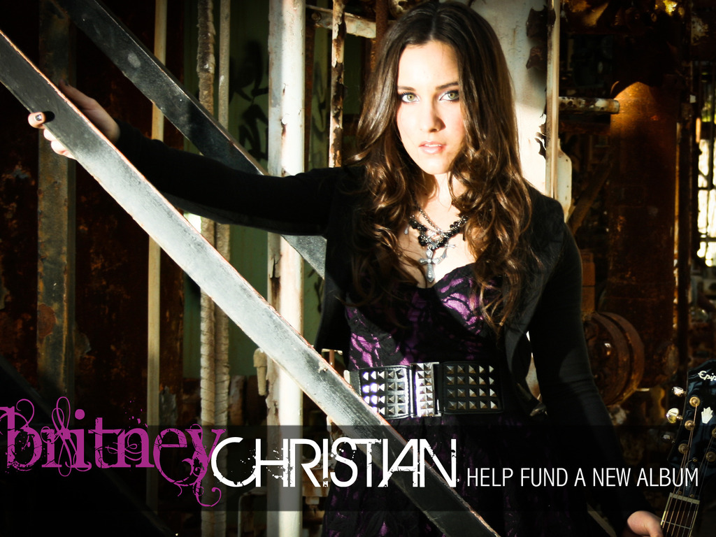 New Britney Christian EP's video poster