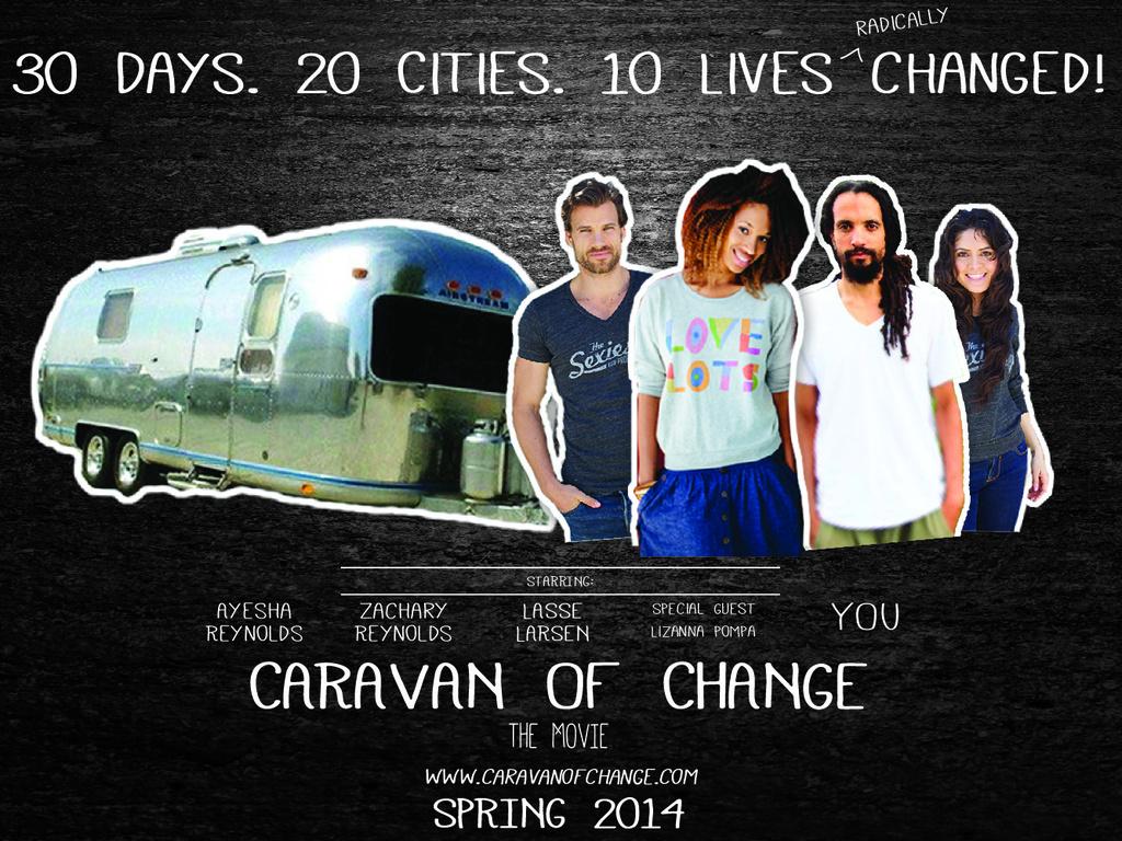 Caravan of Change's video poster