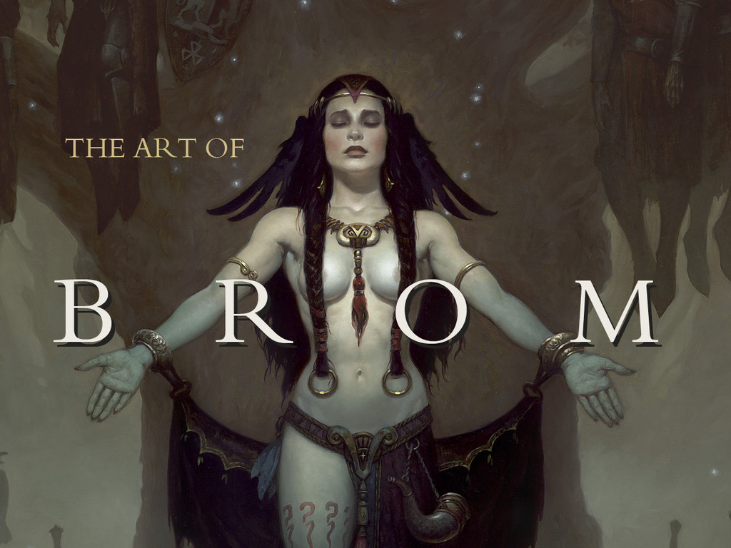 The Art of Brom's video poster