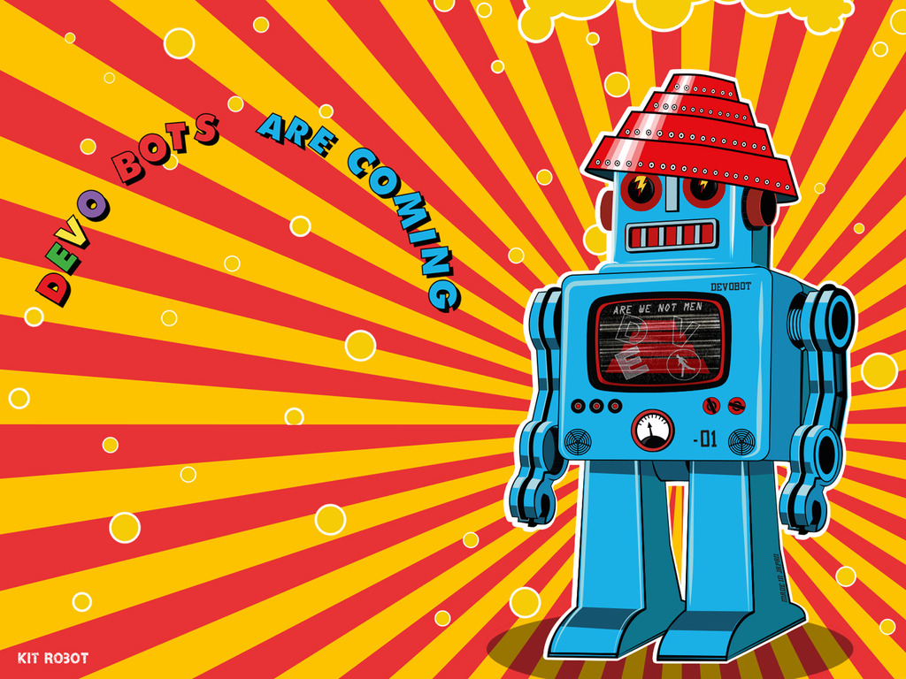 Authorized DEVO Synthesizer and Robot Maker App , DEVOBOTS's video poster