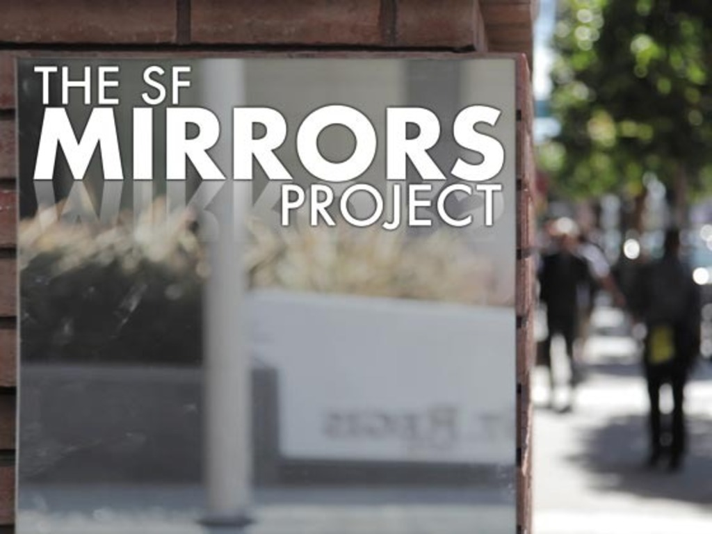 The SF Mirrors Project's video poster
