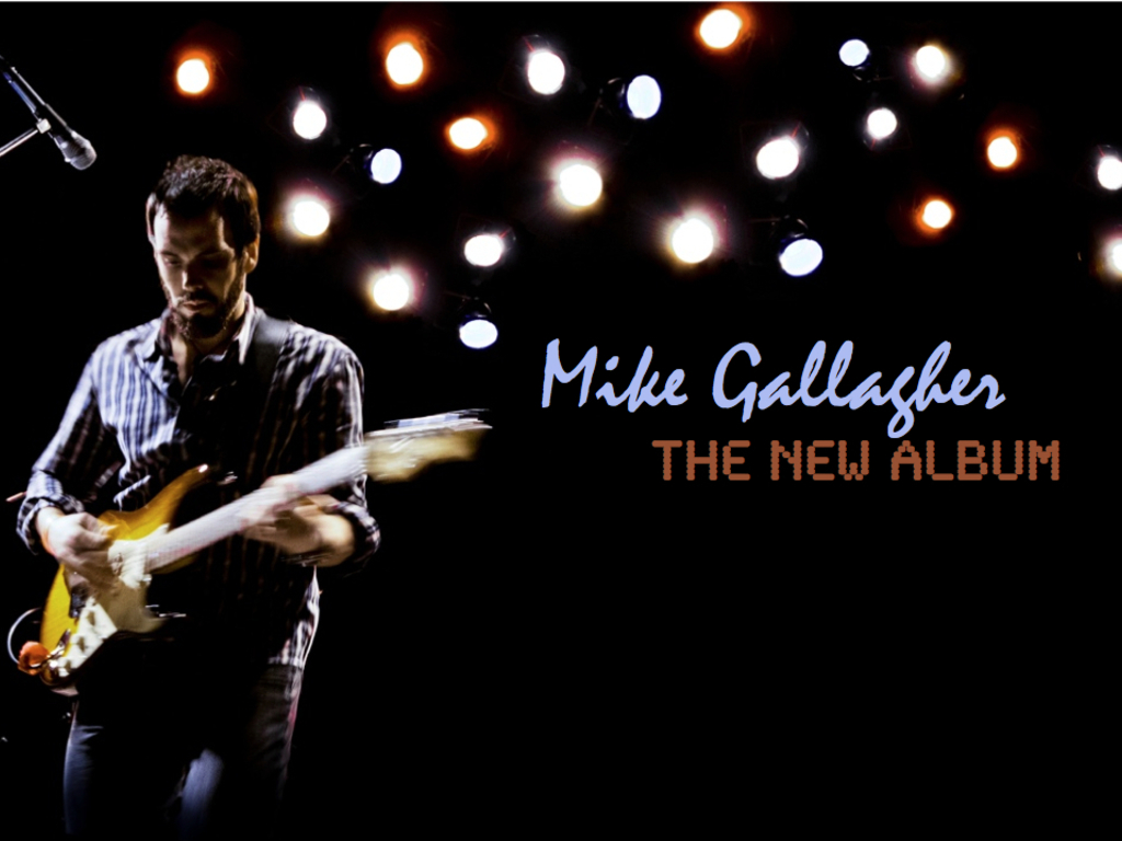 New Solo Album by Mike Gallagher's video poster
