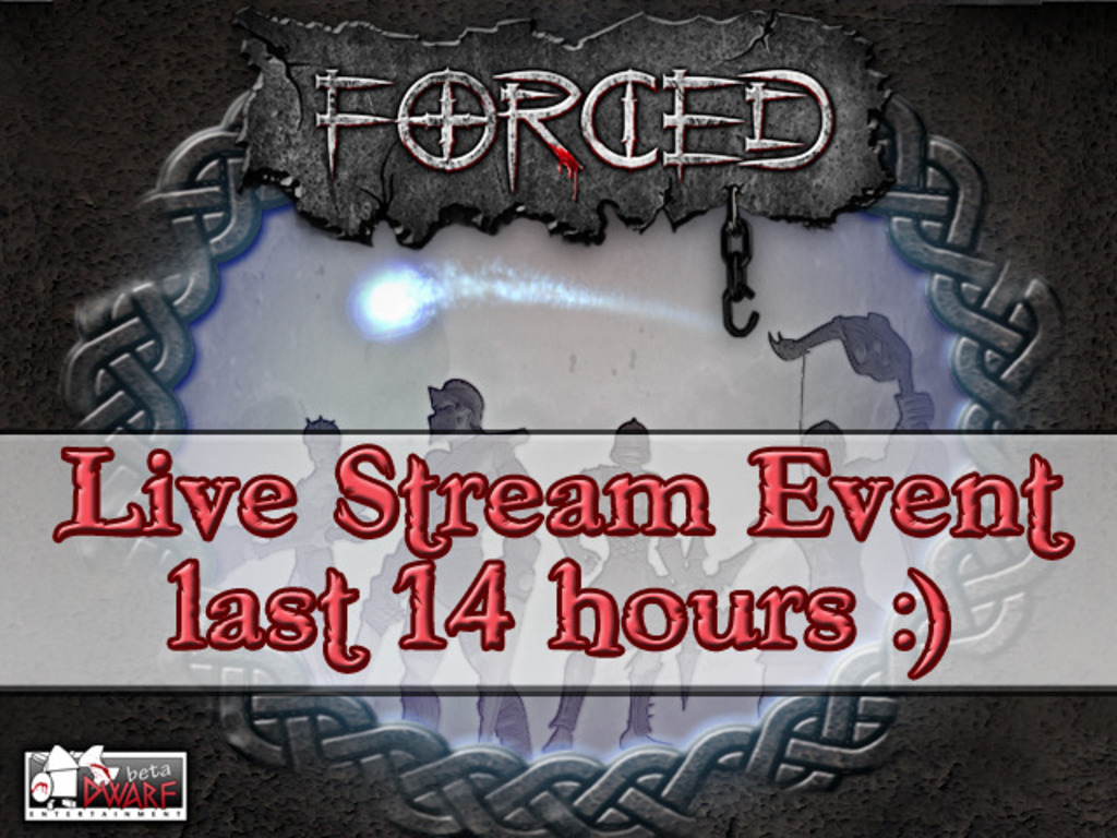 FORCED's video poster