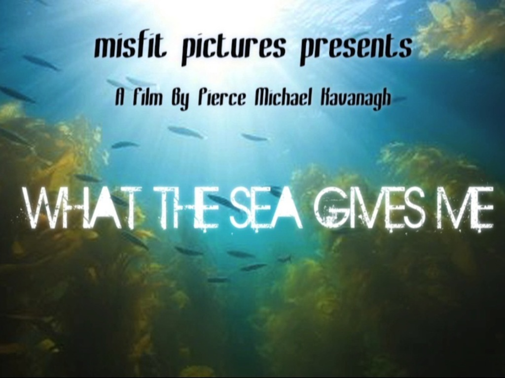 WHAT THE SEA GIVES ME's video poster