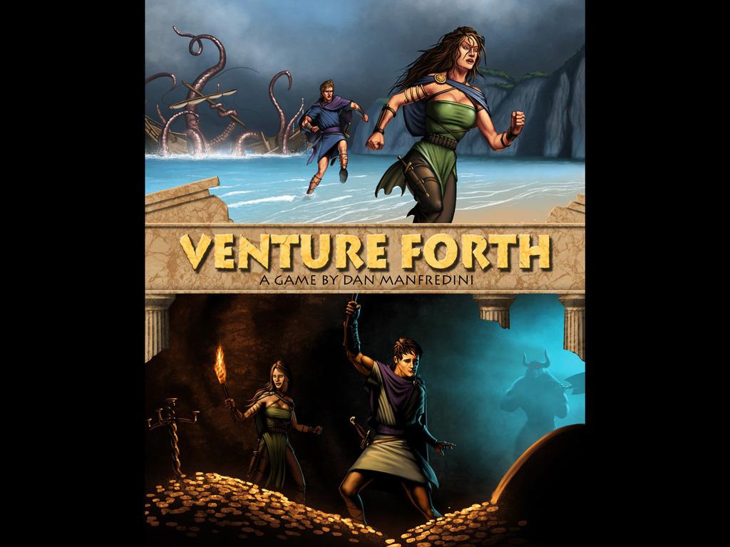 Venture Forth - Adventure Board Game's video poster