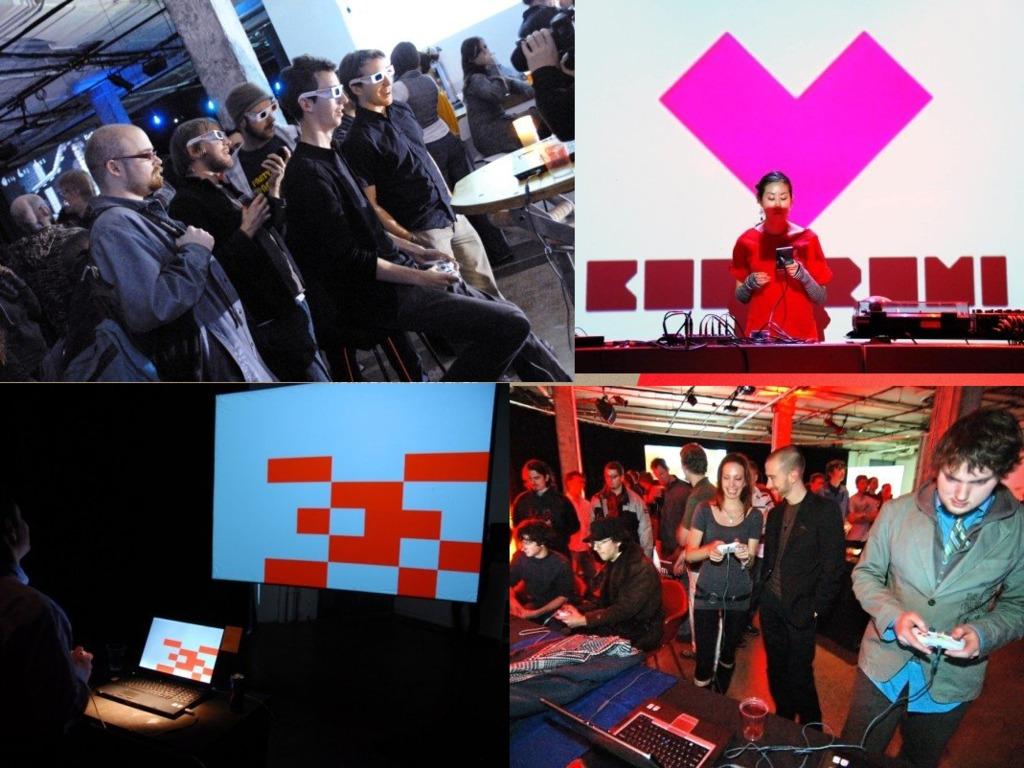 Gamma4: Kokoromi brings legendary indie game showcase to San Francisco's video poster