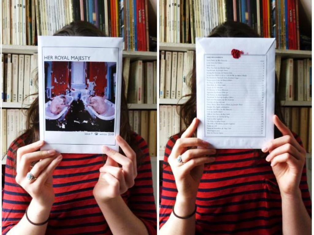 Long Live Her Royal Majesty: a literary magazine needs you!'s video poster
