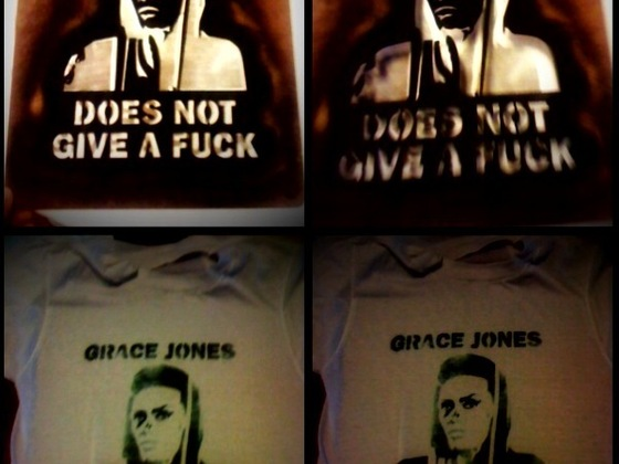 Grace Jones Does Not Give A F$#% T-Shirt (limited Edition) 's video poster