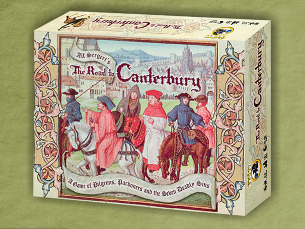 A board game of The Canterbury Tales: The Road to Canterbury's video poster